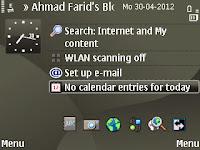 Modding Shortcut Home screen Nokia Jadi Ke Bawah