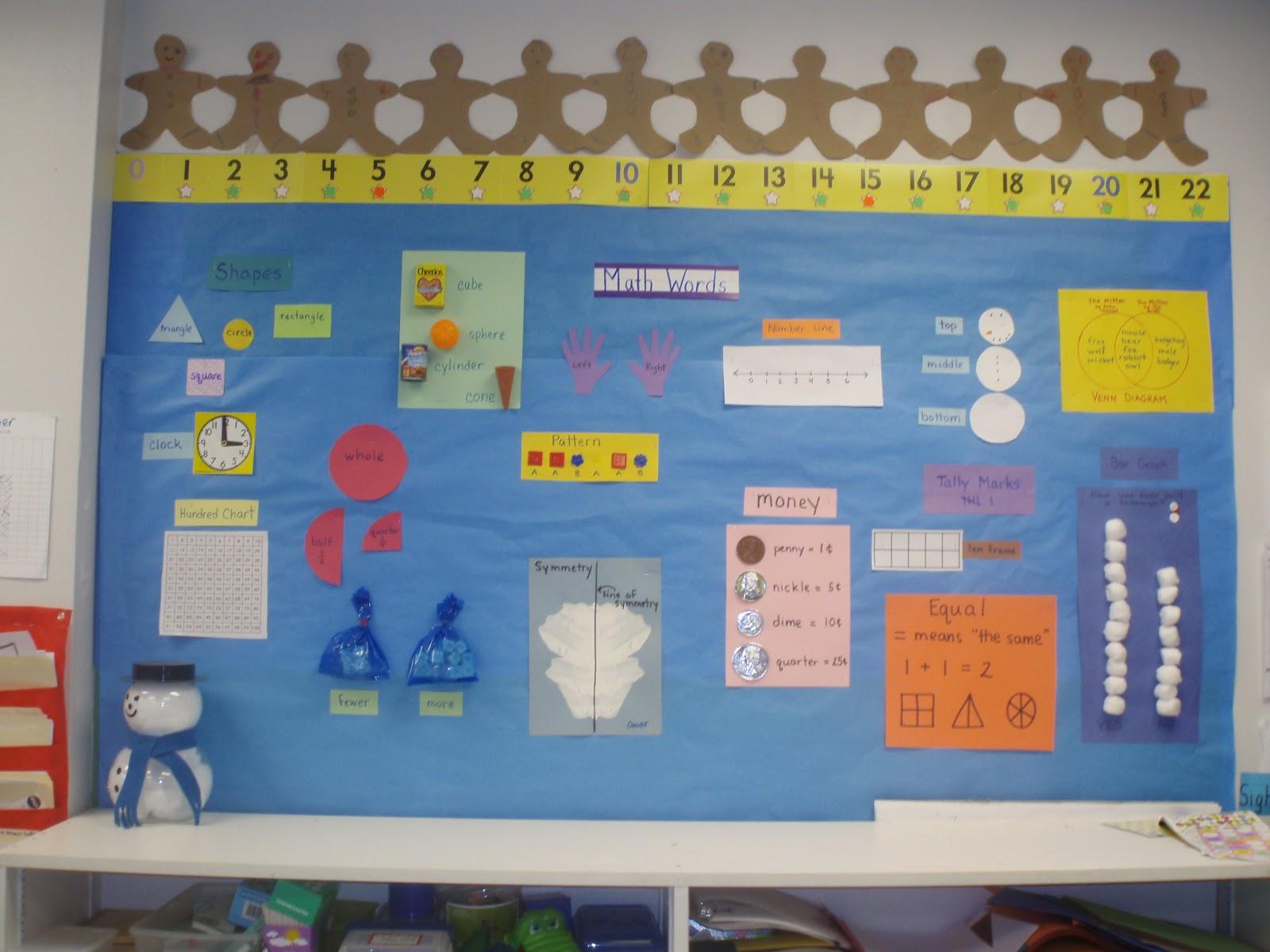 Mrs. Goff\'s Pre-K Tales: Kindergarten Math Words