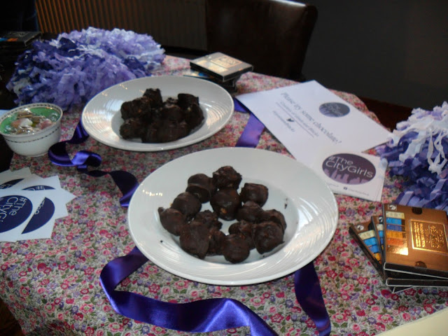 Picture of Green & Black Chocolate Truffles