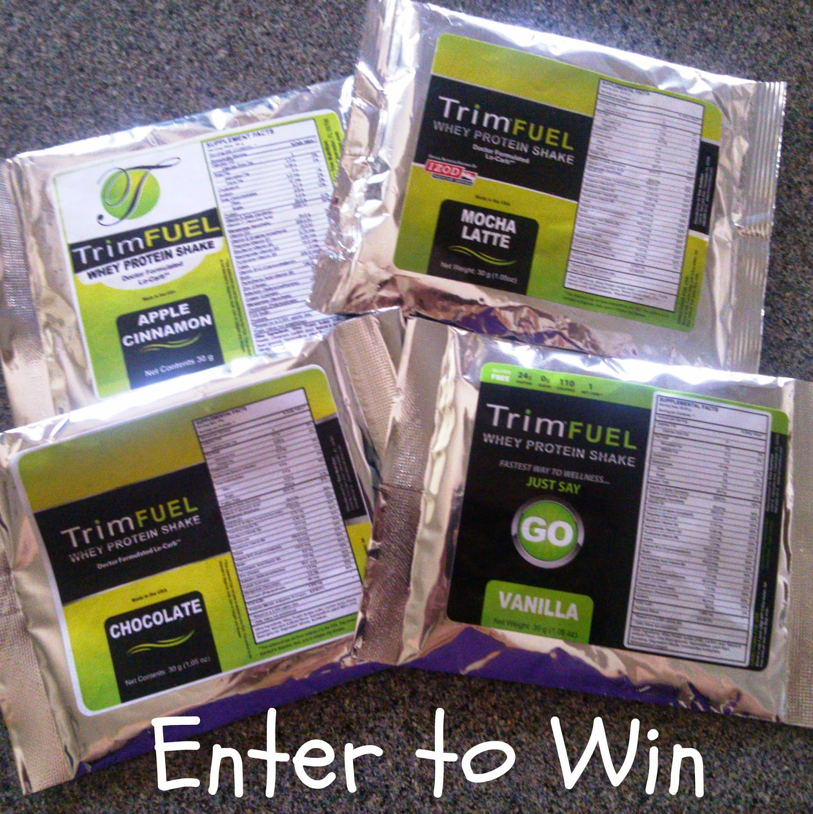 Trim Fuel Low-Carb Protein Shakes Review & Giveaway