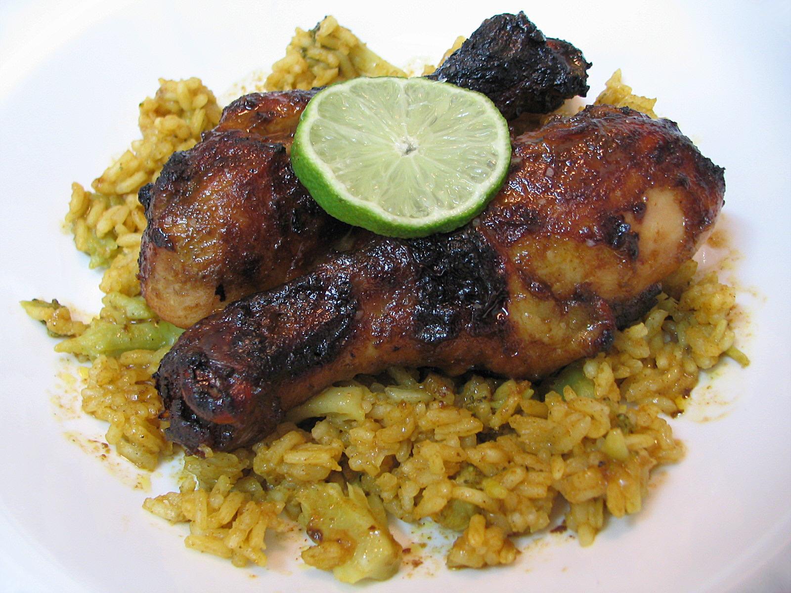 MENU LICIOUS: Spicy Asian Mexican BBQ Chicken Marinade