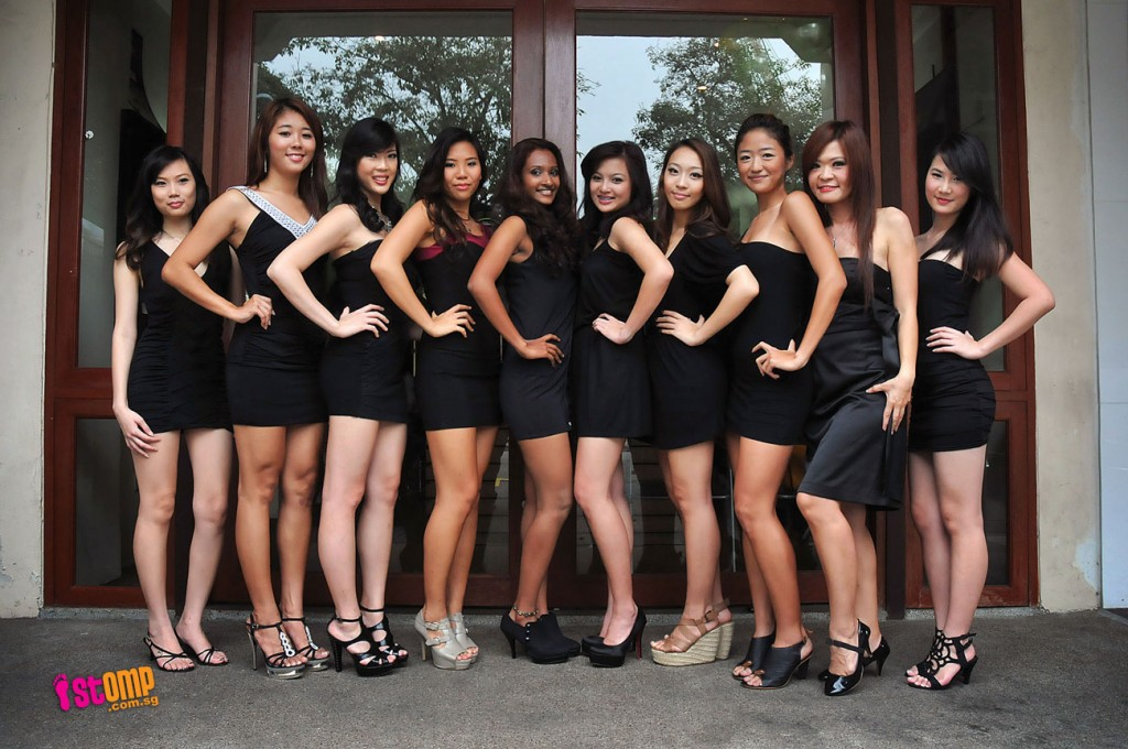 All About Pageants: Miss Singapore World 2011 Finalists