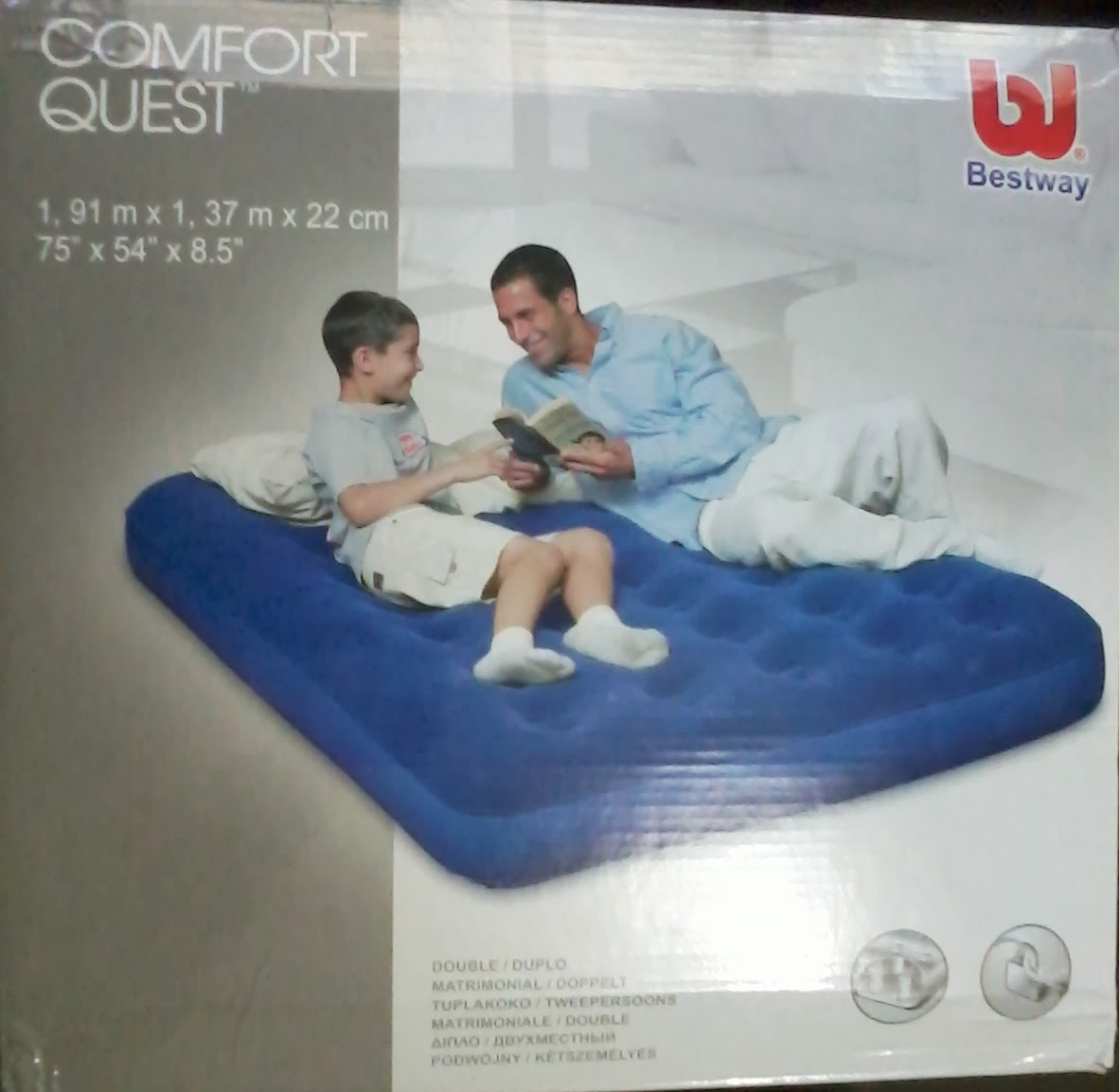Jual kasur angin best way double murah 200ribu importir for Bestway vs intex