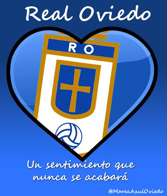 Real Oviedo, te quiero. Corazón Oviedista