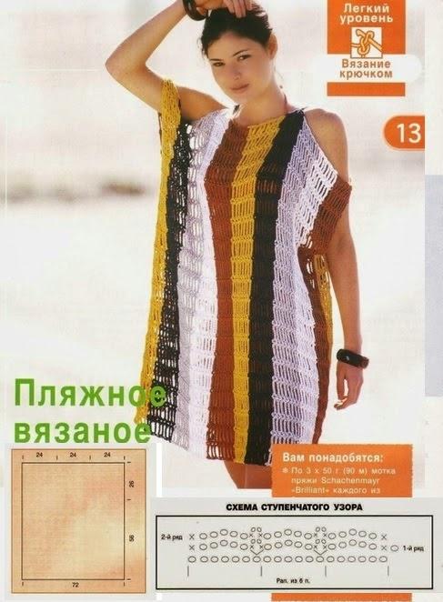 Вязание платье спицами своими руками