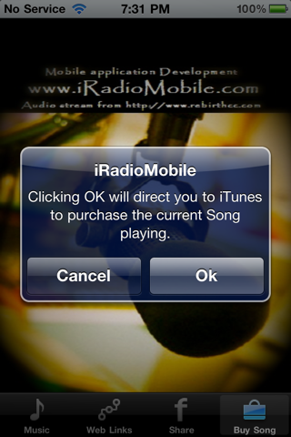 You can get iRadioMobile on Cydia under the BigBoss repository for
