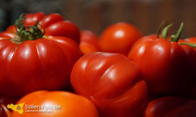 Sizilianische Tomaten - U Rizzu Catanisi von meinem Opa