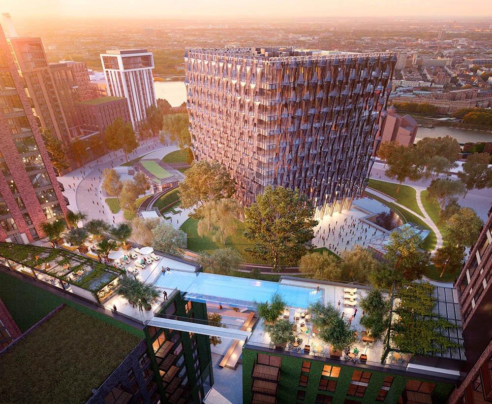 A nova sky pool que vai nascer em Londres