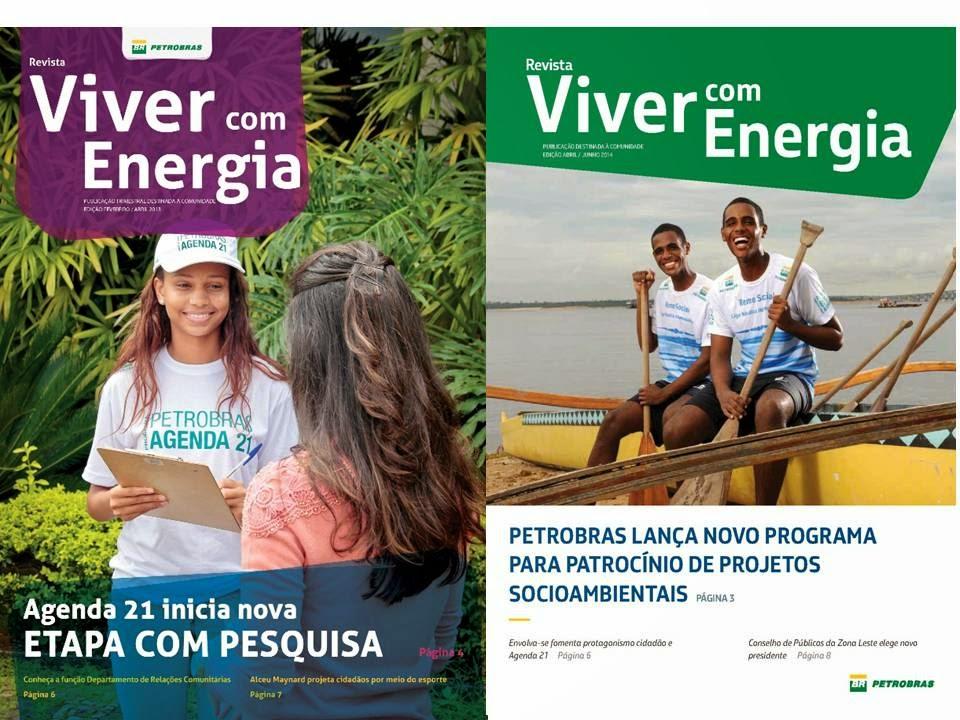 Revista Viver com Energia (publicação externa da Petrobras/Revap)