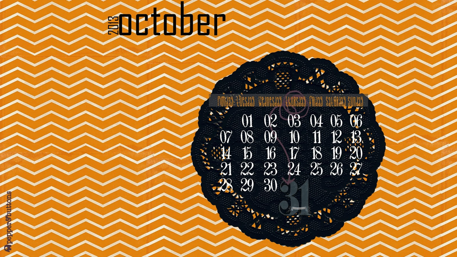 Desktop Wallpaper Calendar — October 2017 — Free to ...
