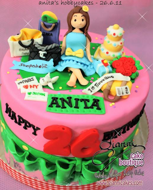 Birthday Cakes Of Anita Image Inspiration of Cake and Birthday