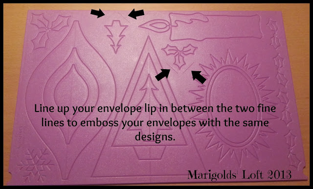 embossing envelopes