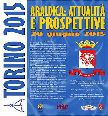 Torino, convegno su: Araldica attualità e prospettive