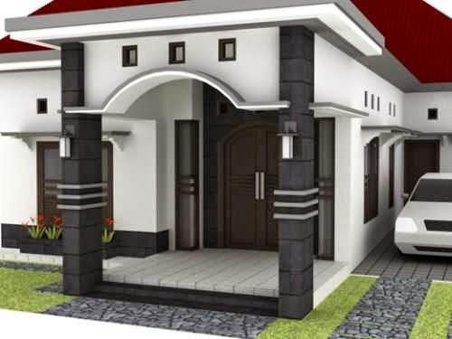 ide gambar teras rumah minimalis modern type 36 45