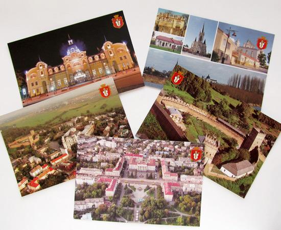Луцк на открытках, фото