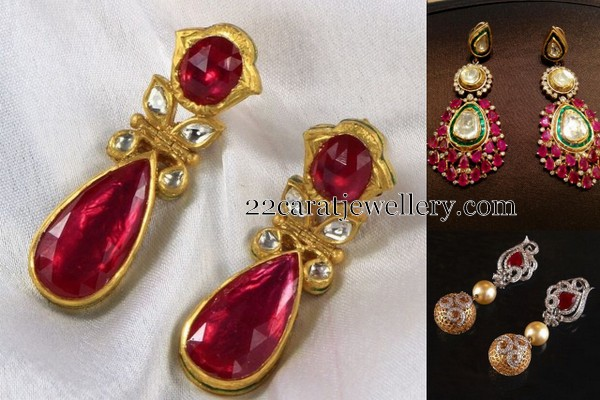 Grand Cab Ruby Earrings