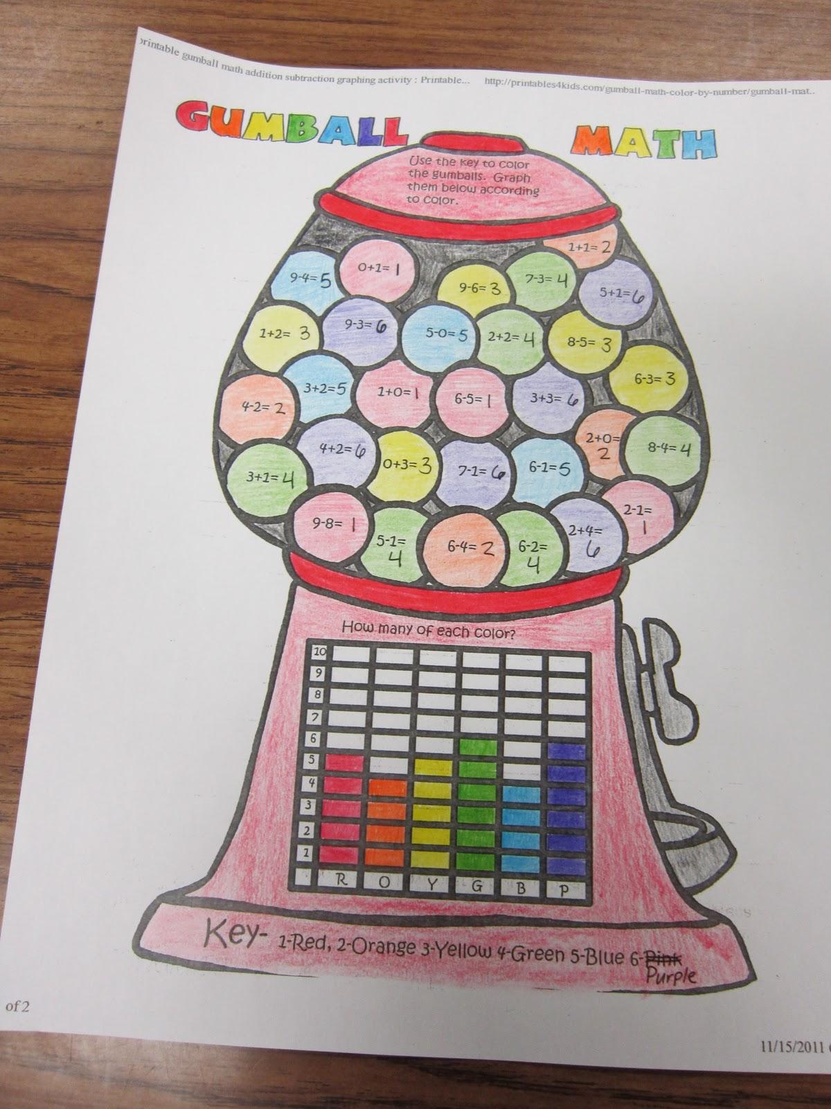 Teach From The Heart: Gumball Math