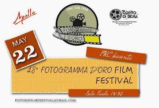 48^ EDIZIONE DEL FOTOGRAMMA D'ORO FILM FESTIVAL A MESSINA