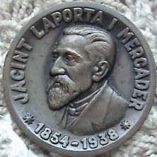 Moneda conmemorativa de Jacint Laporta i Mercader
