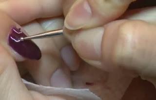 Croc nail art