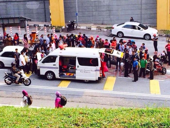 Punca Sebenar Kemalangan Pelajar Uitm Shah Alam Dilanggar Kereta Pensyarah