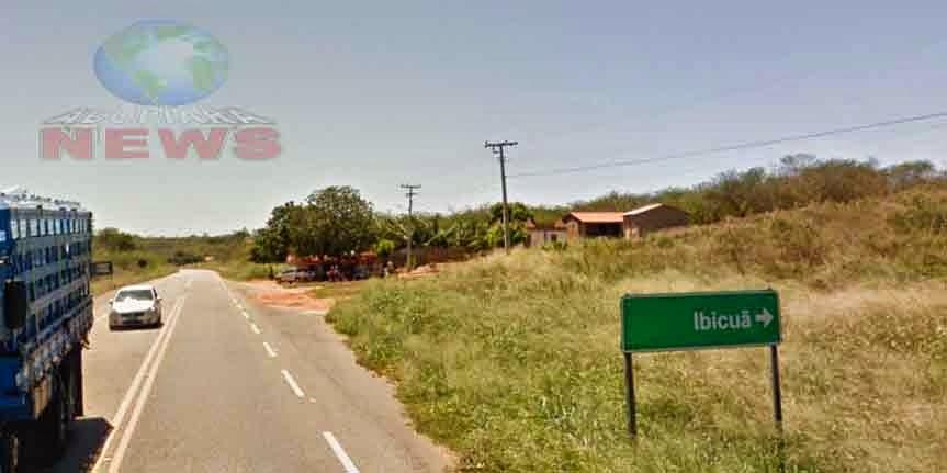 """Bandidos fazem """"arrastão"""" em comércios no distrito de Ibicuã Piquet Carneiro"""
