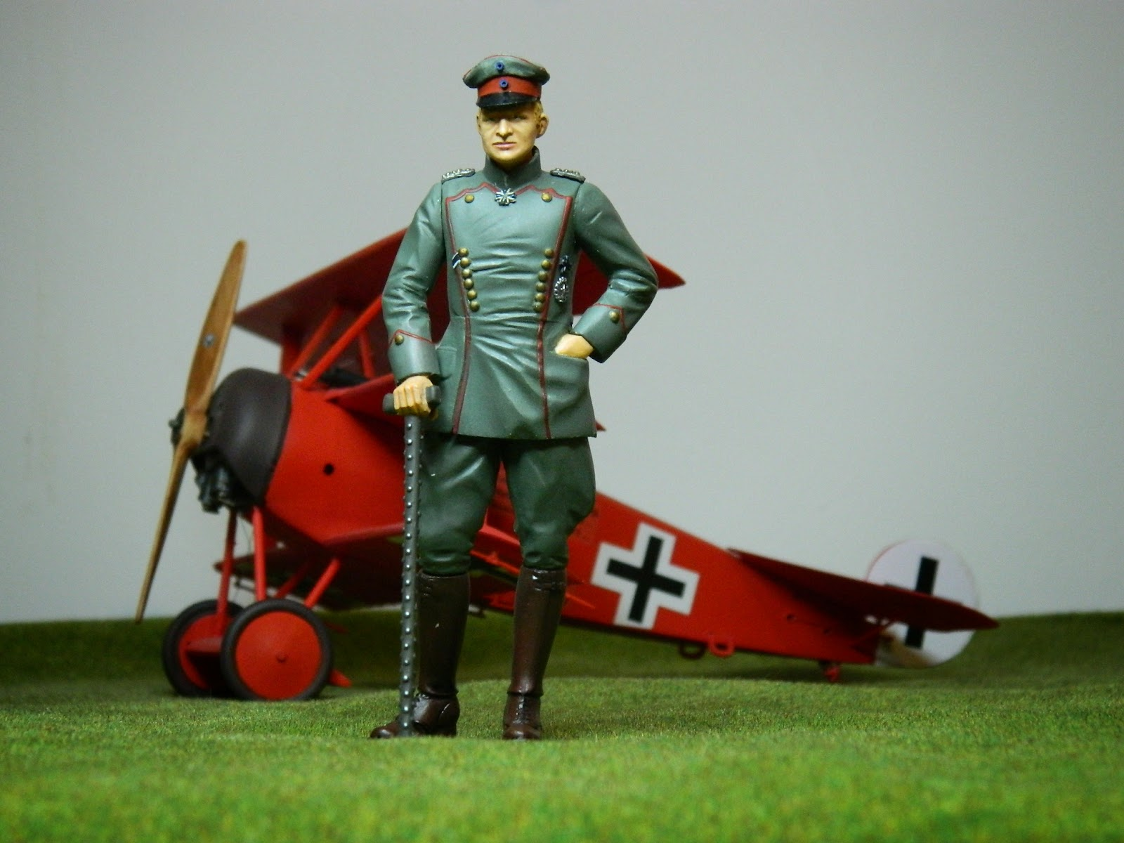 Mike's Modeling: The Red Baron, Manfred von Richthofen #2 ...