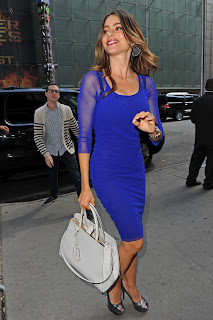 Sofia Vergara at ABC Studios in New York