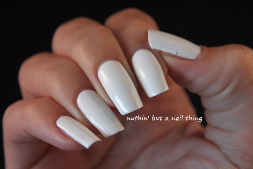 Simple Nail Art Designs With White Colour | Hession Hairdressing