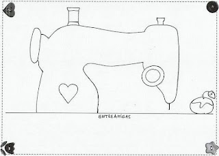 moldes eva capa maquina costura