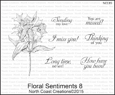 North Coast Creations Stamp sets - Floral Sentiments 8