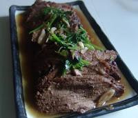 Chinese beef slice recipe