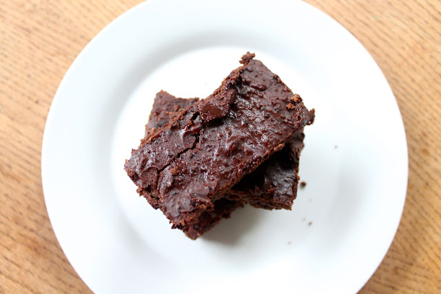 recipe for a chocolate chip protein brownie