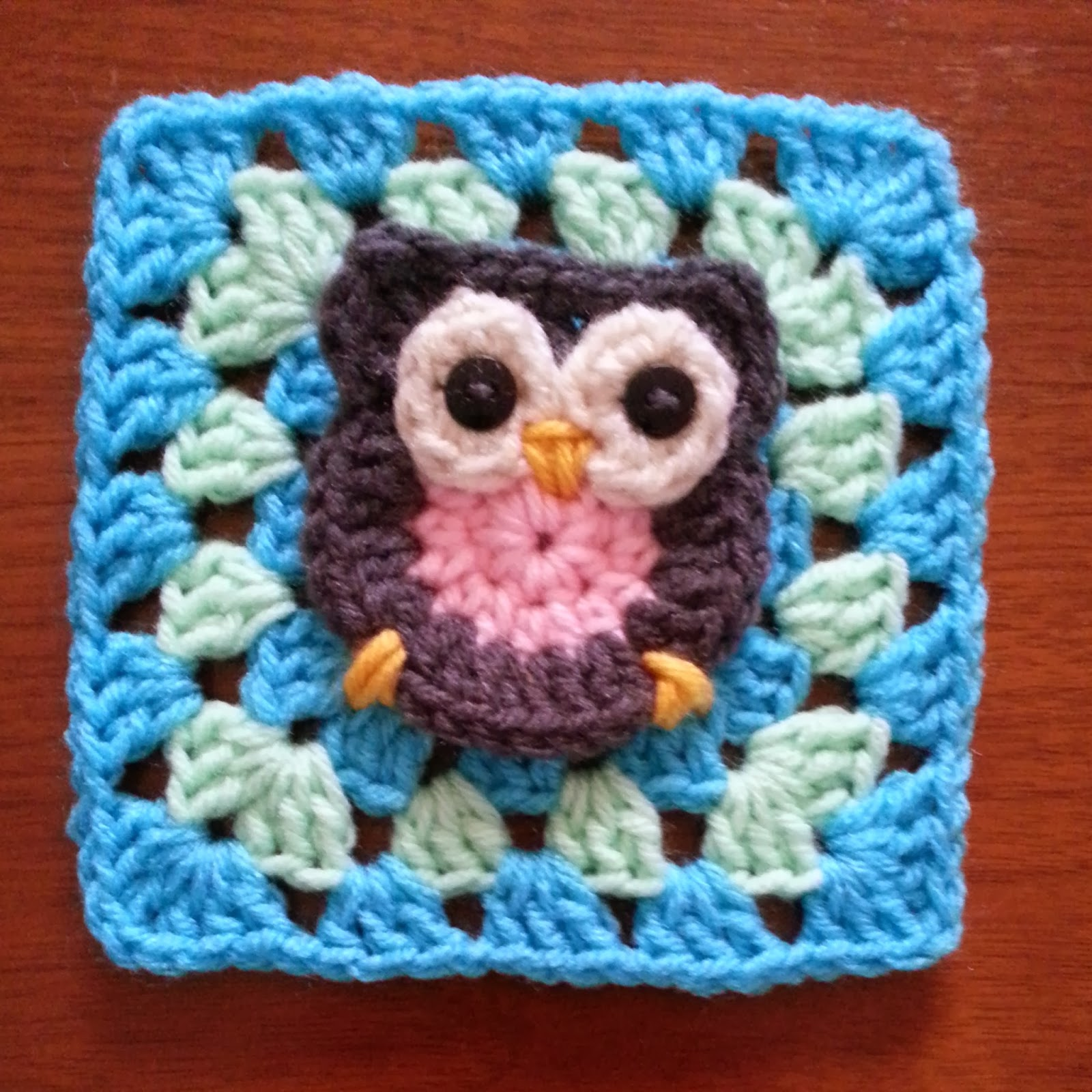 Crochet pattern owl granny square manet for cleverly crocheted by casey crochet pattern owl bankloansurffo Image collections