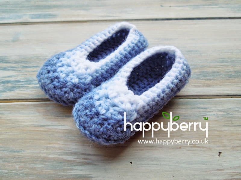 Happy Berry Crochet How To Simple And Quick Newborn Baby Booties