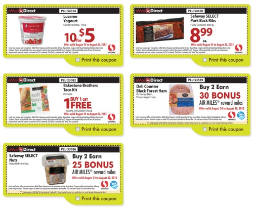 Canada safeway coupons email