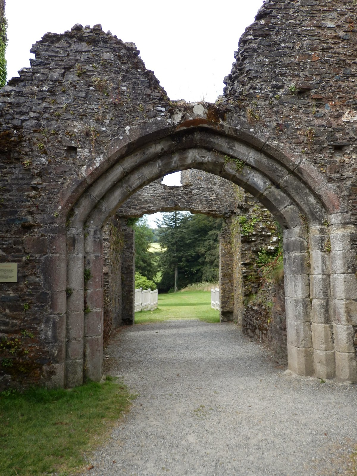 Entrance to Restormel Castle