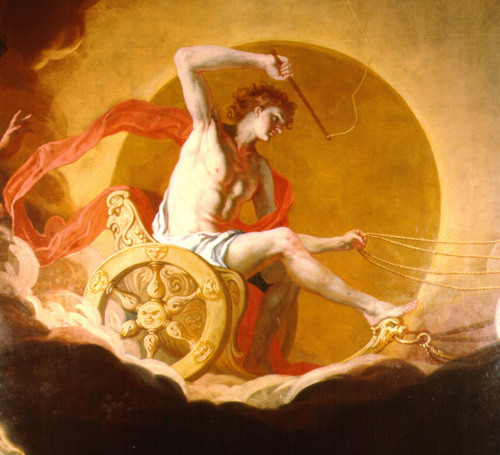 apollo the greek god of sun Note: apollo is the god of light, not the sun helios (sol in roman myth) is the greek god of the sun it wasn't until 3rd century bc that apollo became identified.