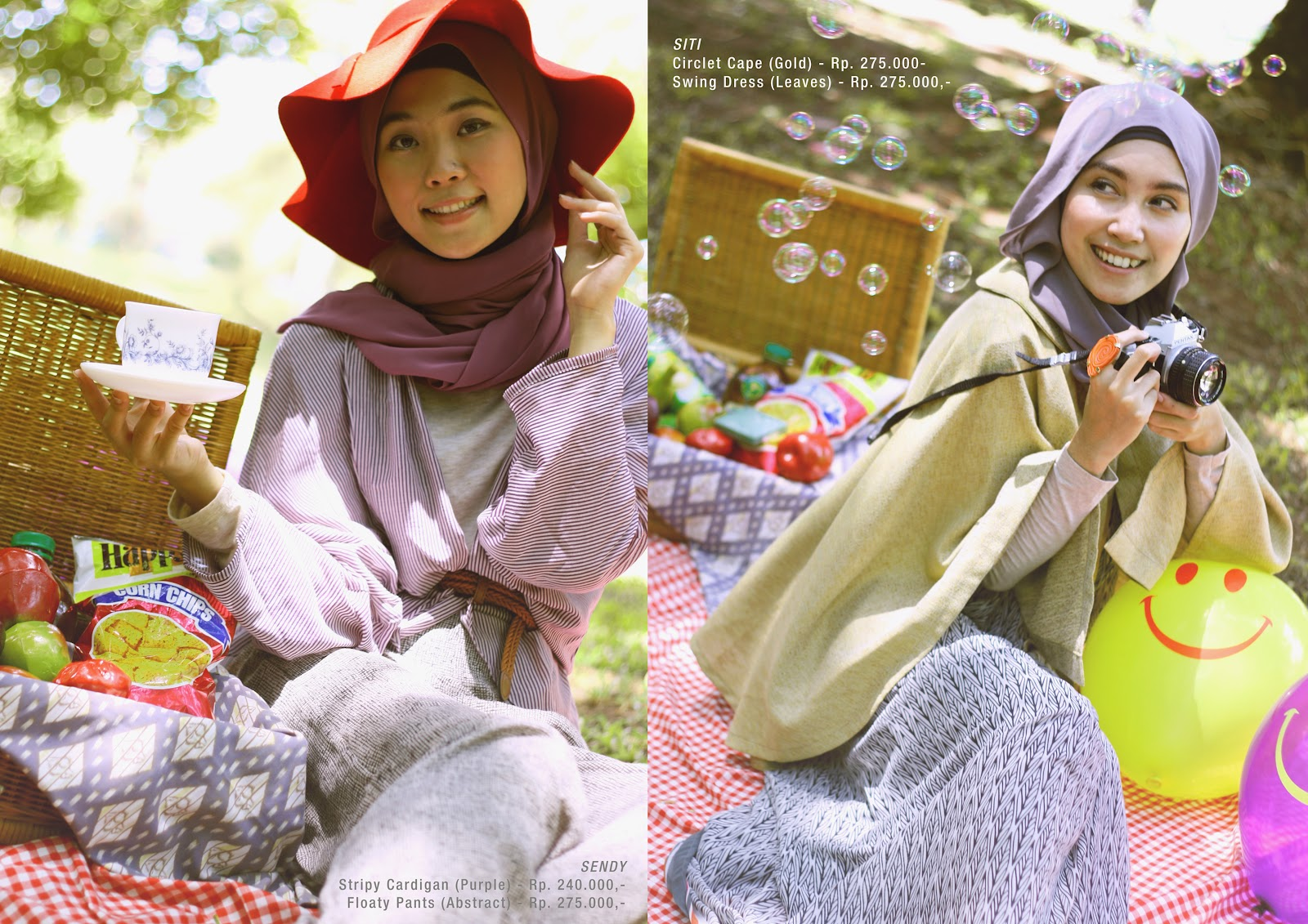 Tantri Ayunita And Siti Juwariyah The Concept Of Picnic Goes