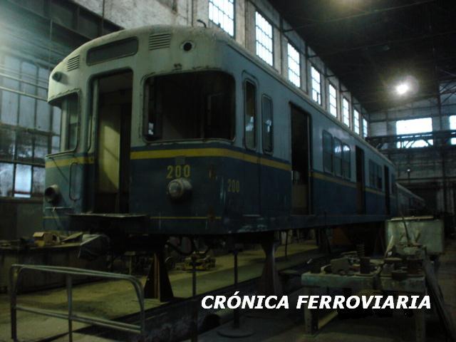 Tren restaurado para el ramal Rojas del Urquiza