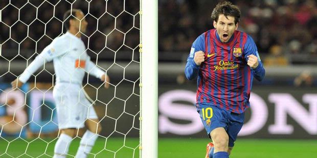 Hasil Skor Barcelona vs Santos