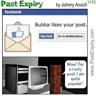 Cartoon about 3D, cartoon, Facebook, fans, social networking,