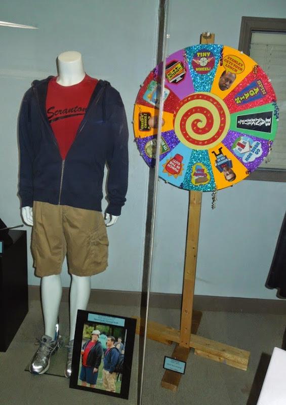 Steve Carell The Office costume Chore Wheel prop