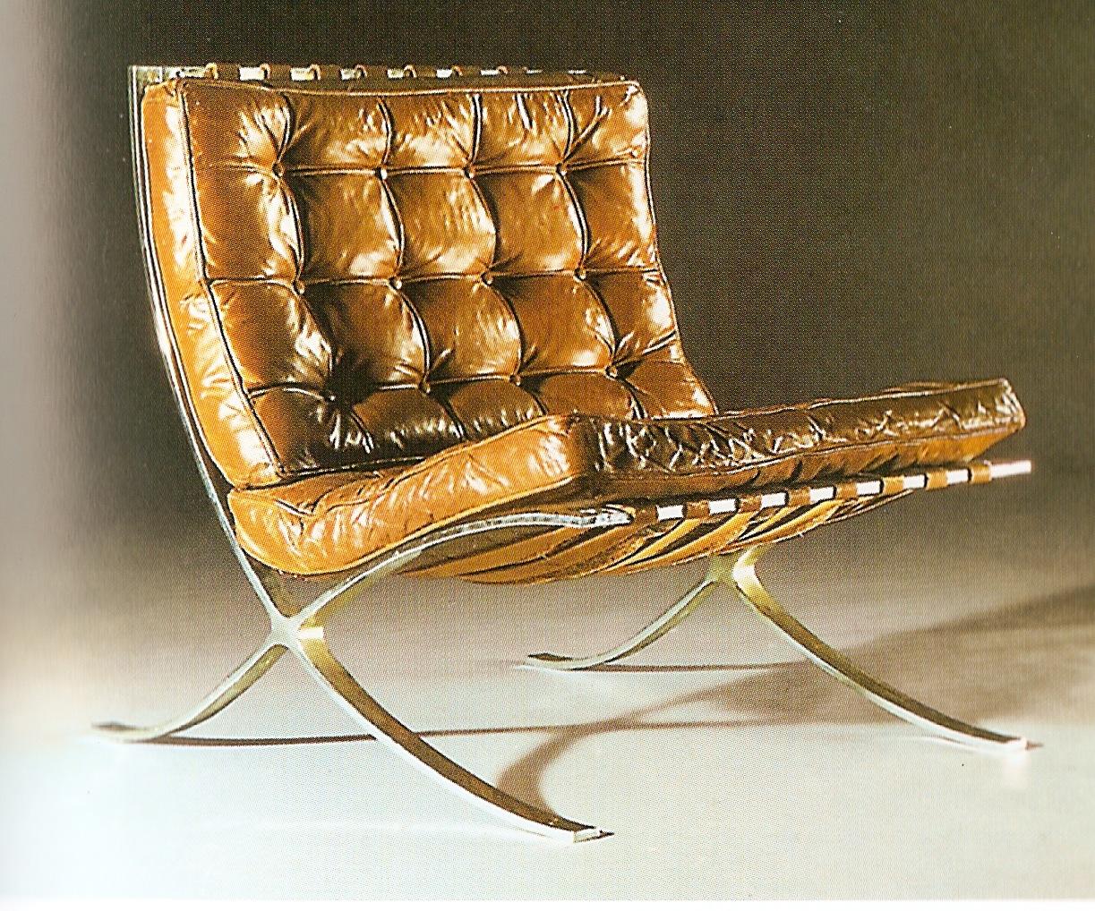 La silla en el siglo xx te lo decoro todo - Silla barcelona mies van der rohe ...