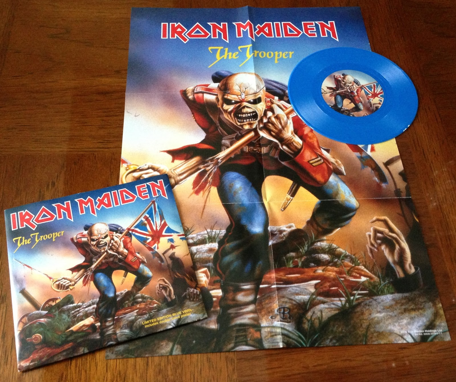 To Be Honest Both Records Are Not Different Enough Justify Double Dipping Into The Iron Maiden Merch Kingdom Unless You A Mega Fan Like Myself