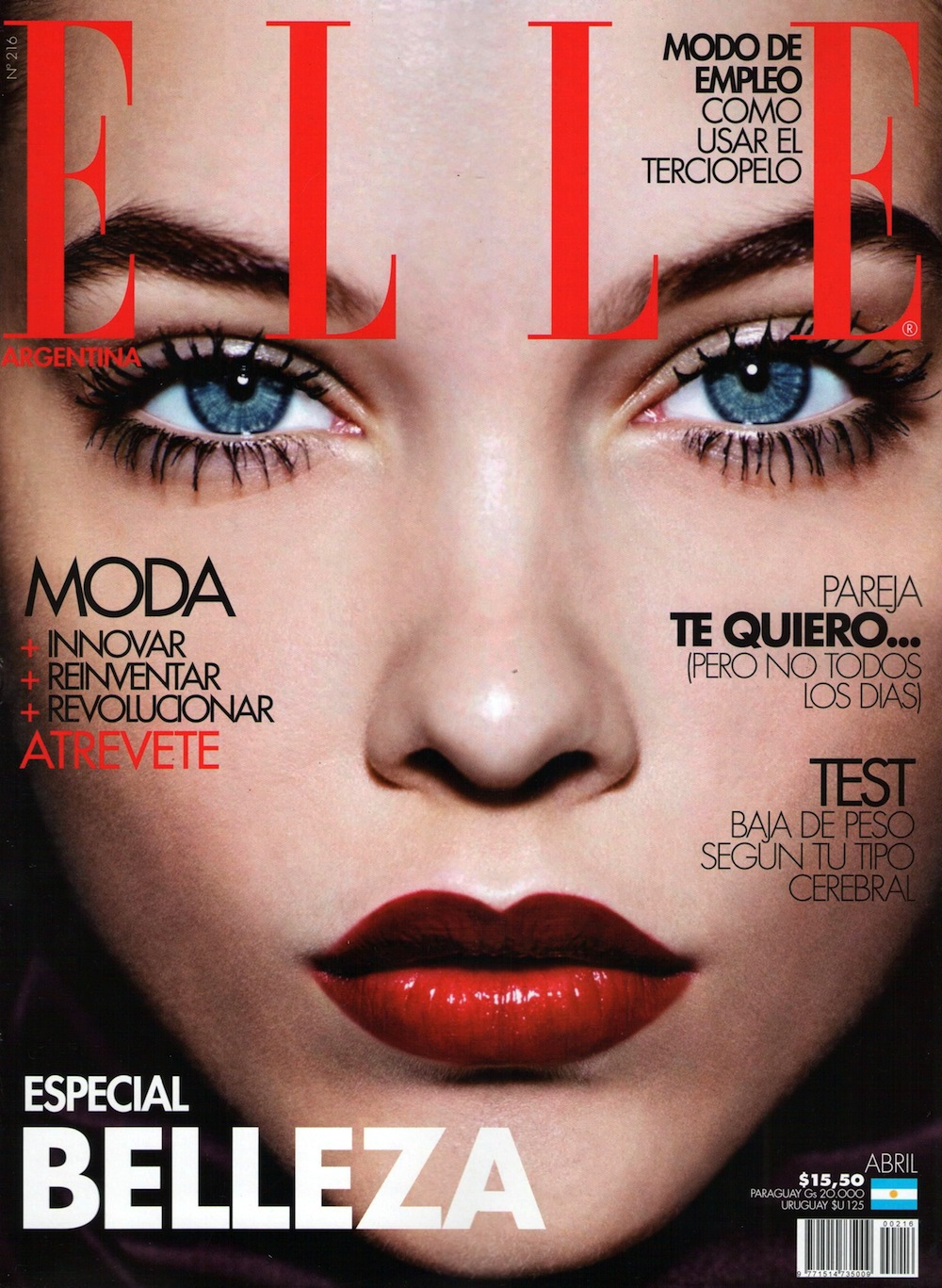 Elle Argentina April 2012: Barbara Palvin by Jan Welters