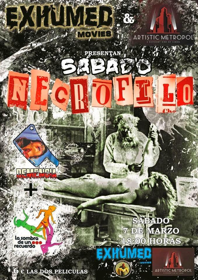 Sábado Necrófilo en Artistic Metropol