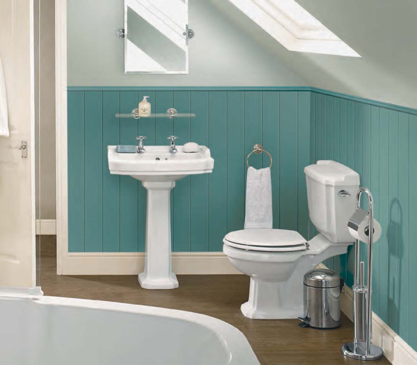 white colour is the most popular for bathrooms but if white is too much it can leave the room looking clinical and cold but if you tried to combine white