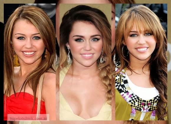 cortes de pelo 2014 largos Miley Cyrus