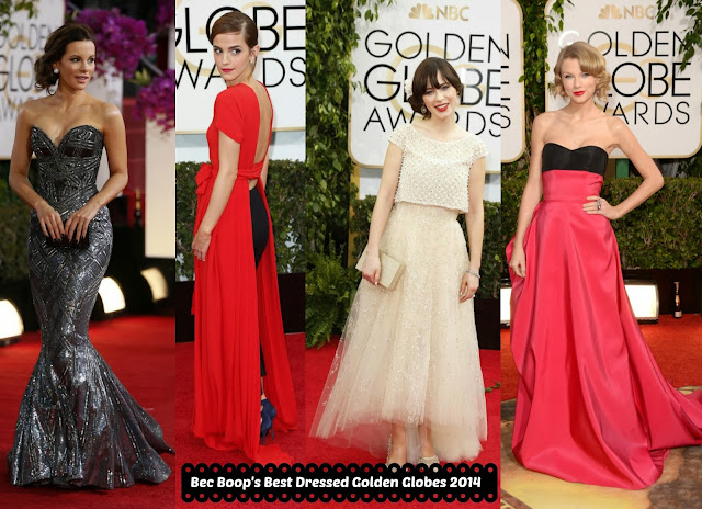 Golden Globes 2014 Best Dressed Ladies